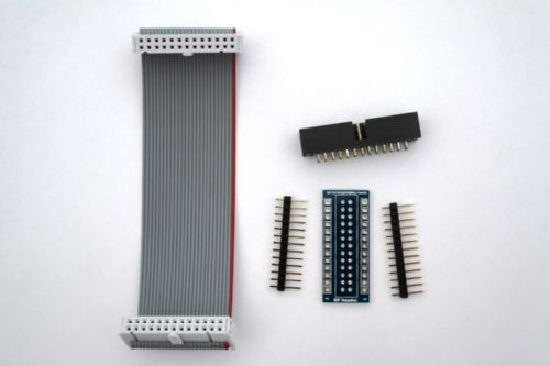 GPIO Breakout Kit for use with Raspberry PI - Self Build Kit